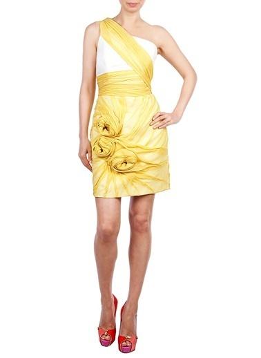 Rachel Gilbert Elbise Sarı